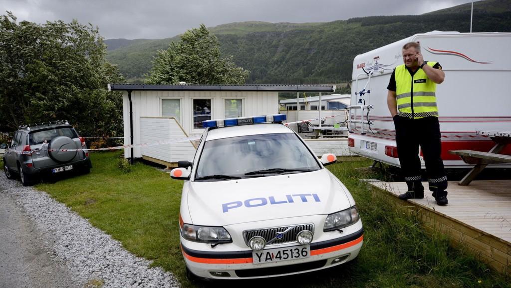 DREPT: Kvinnen ble funnet drept i parets campingvogn på Havblikk camping i juli 2013. Mannen er nå dømt for drapet.