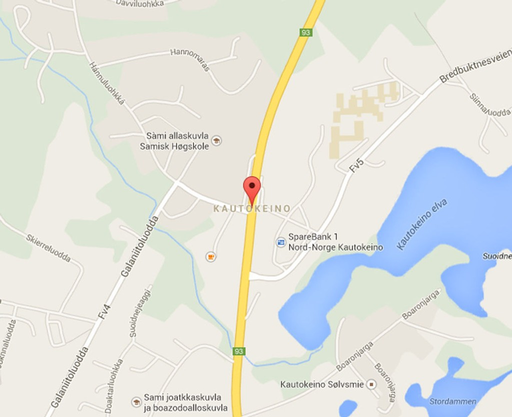 Like ovenfor Høgskolen i Finnmark skjedde påkjørselen i grålysningen torsdag morgen.