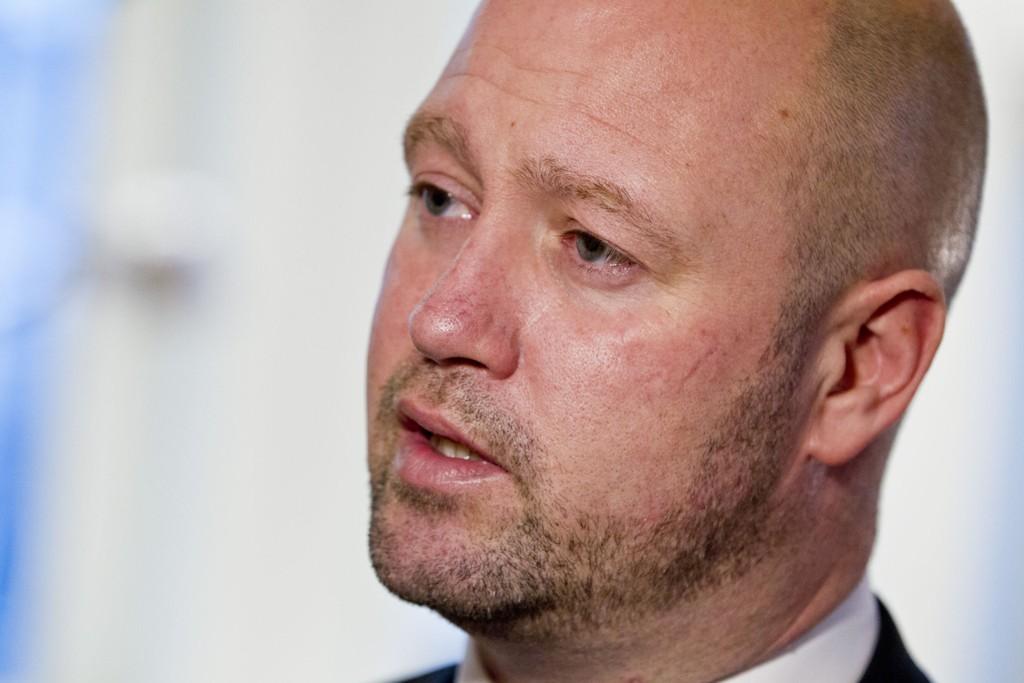 Justisminister Anders Anundsen (Frp).