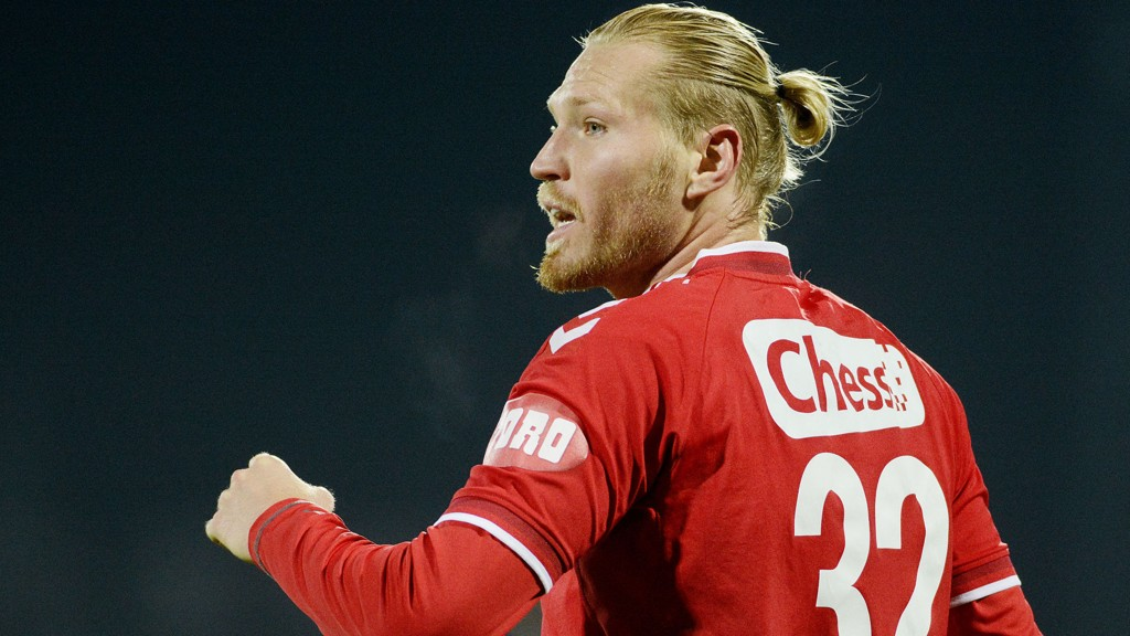 Tomasz Sokolowski lånes ut til Stabæk. Foto: Jon Olav Nesvold / NTB scanpix