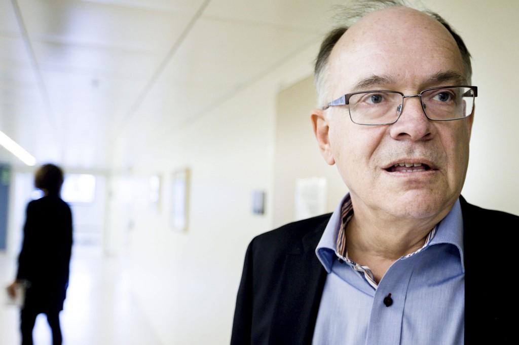 SPARKES: Styreleder Göran Stiernstedt og resten av Ahus-styret byttes nå ut, etter at prosessen med å ansette ny sykehusdirektør strandet fredag.