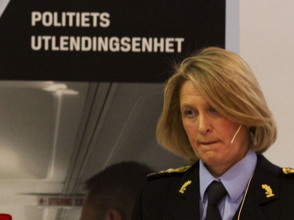 Ingrid Wirum begynte i jobben som politimester i Asker og Bærum politidistrikt 3. juni i fjor. Her er hun avbildet mens hun var leder for Politiets Utlendingsenhet.
