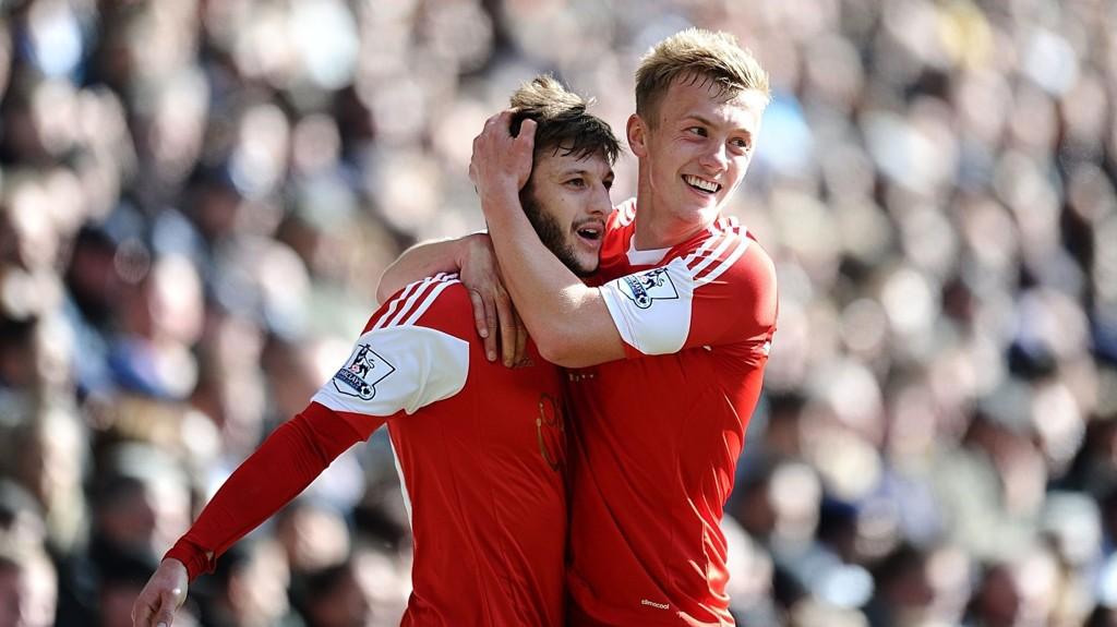 Adam Lallana og James Ward-Prowse er blant Southamptons mange unge, spennende spillere.