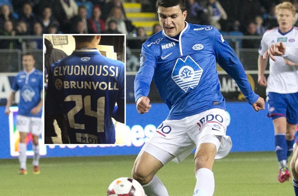 OOOPS: Mohamed Elyounoussi har ikke et enkelt etternavn å stave. Det kom til syne fredag kveld.