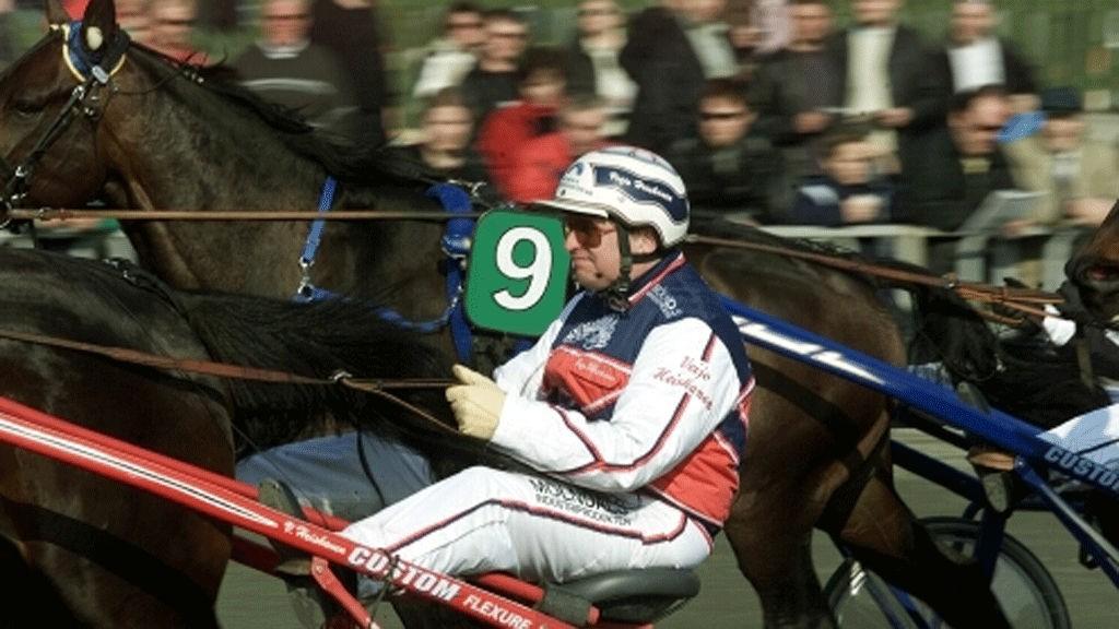 Veijo Heiskanen er kusk og trener av Daryl Boko. Foto: hesteguiden.com