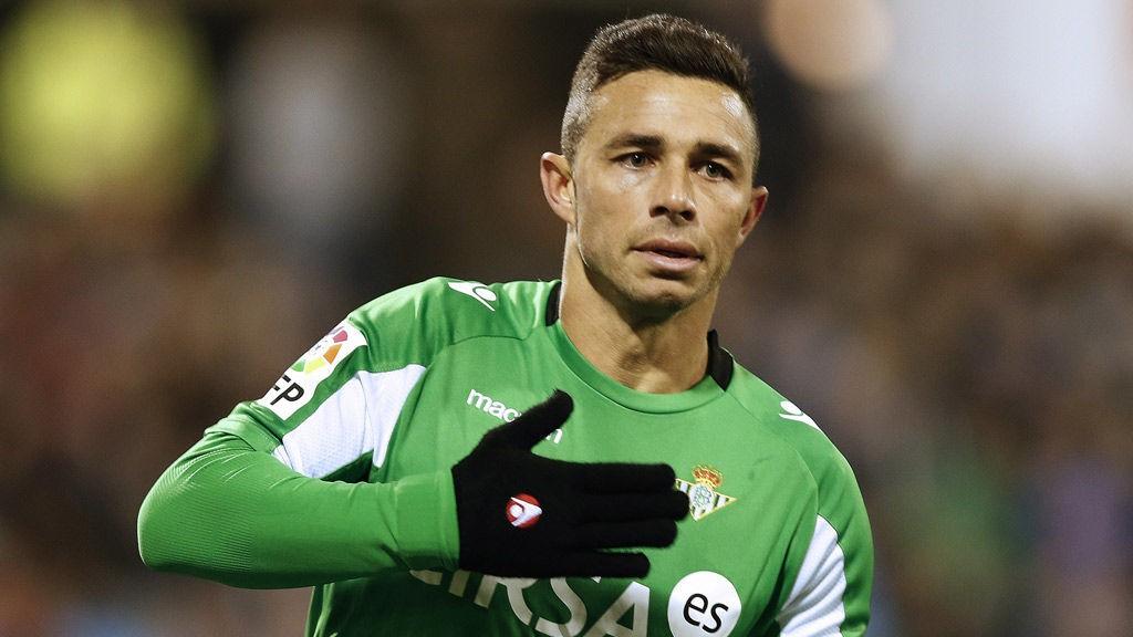Ruben Castro er toppscorer i Betis sammen med Jorge Molina. Begge har scoret åtte mål.