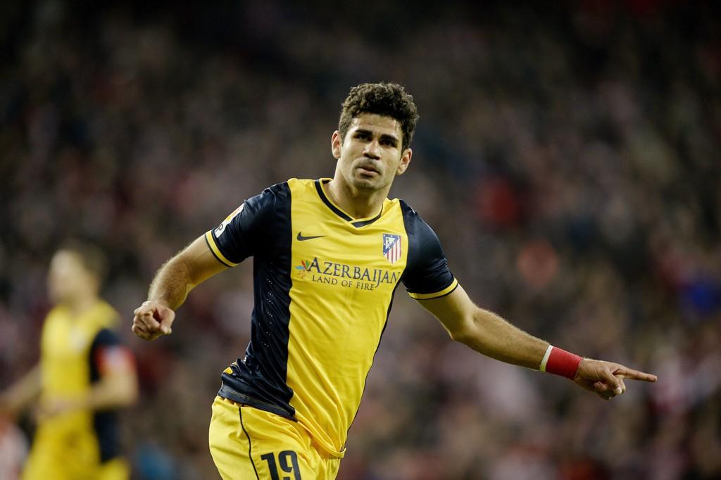 USUIKKER: Diego Costa kan gå glipp av møtet med Barcelona.