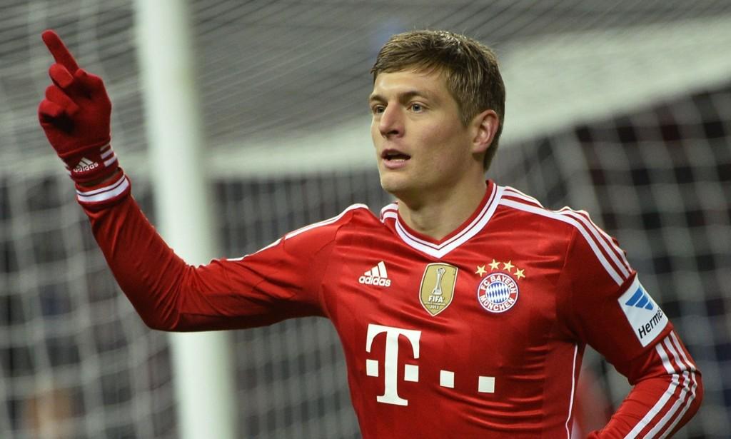 IKKE TIL SALGS: Bayern München nekter å selge Toni Kroos til Manchester United.