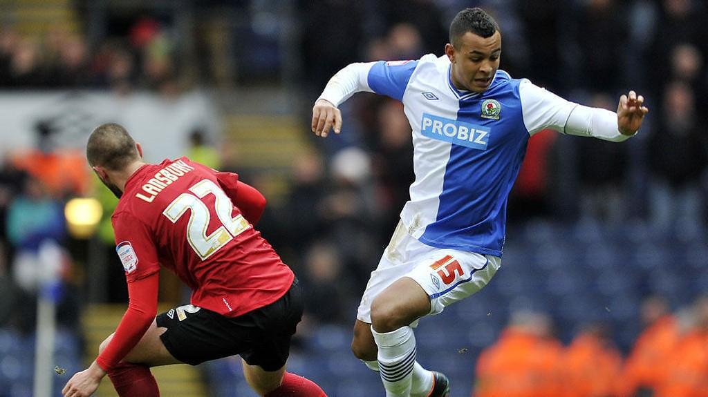 Joshua King reddet et viktig Blackburn-poeng i sluttminuttene mot Millwall sist.