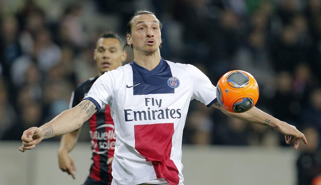 STJERNA: Zlatan Ibrahimovic er en av dem PSG har brukt mey penger på.