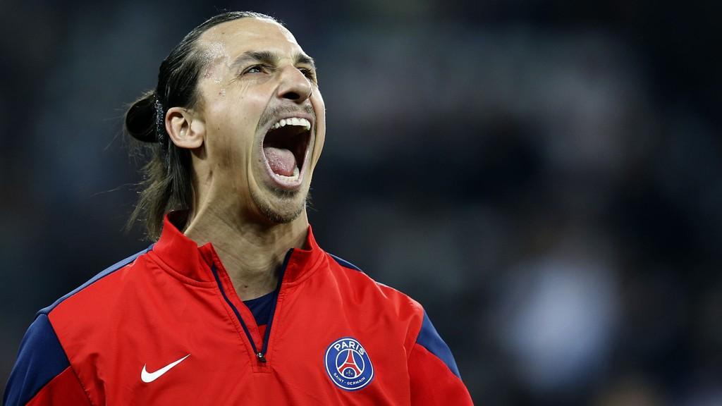 UTELUKKER ENGLAND: Zlatan Ibrahimovic sier han ikke angrer på at han ikke dro til England.
