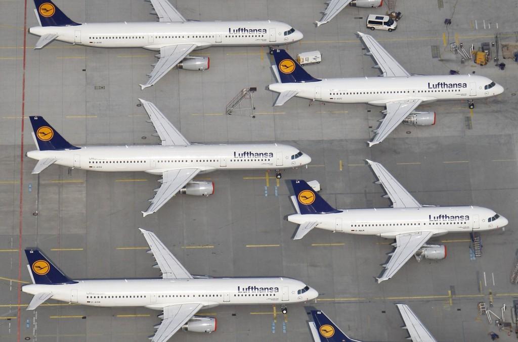 Lufthansa har innstilt en rekke flyturer.