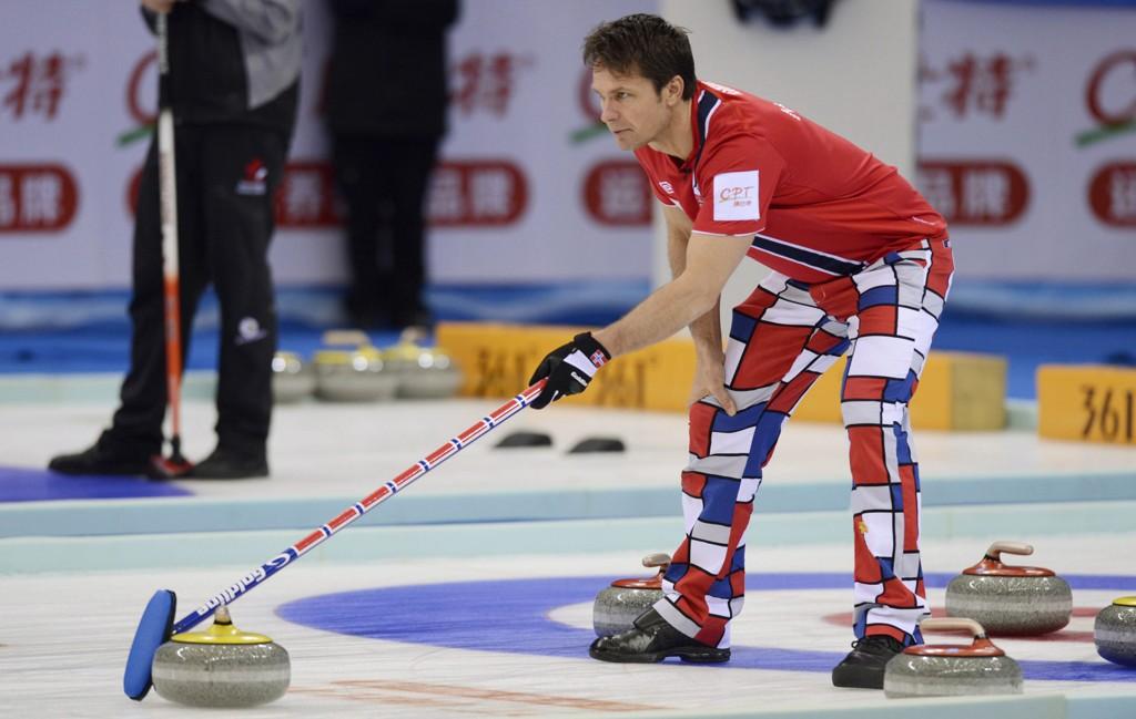 STORSPILLER I VM: Nå er de norske gutta klare for sluttspillet.