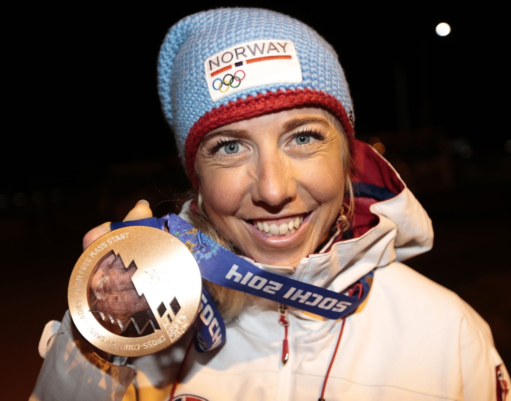ENDELIG MEDALJE: Kristin Størmer Steira har gått inn til mange sure fjerdeplasser, men i Sotsji fikk hun endelig med seg en individuell OL-medalje.