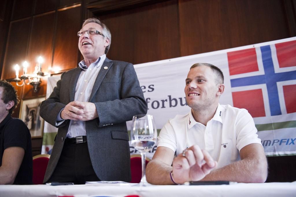 - HAR LEVERT EN GOD SØKNAD: Sykkelpresident Harald Tiedemann Hansen håper UCI vil velge Bergen som arrangørby for VM i 2017.