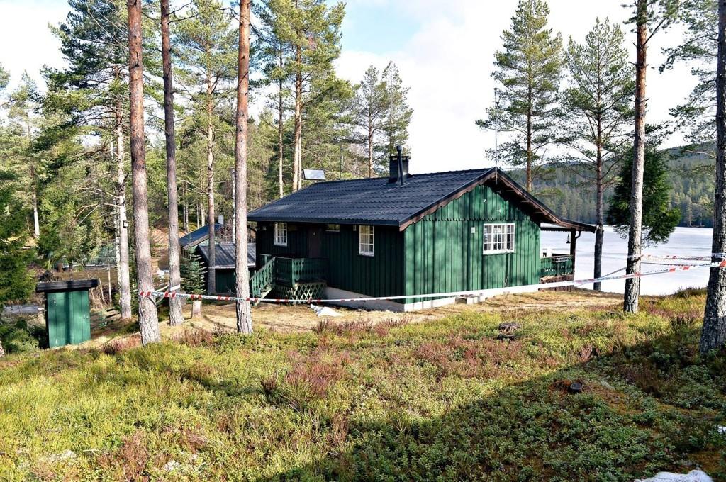 To personer omkom lørdag 22. mars i en gasseksplosjon i en hytte i Hokksund.