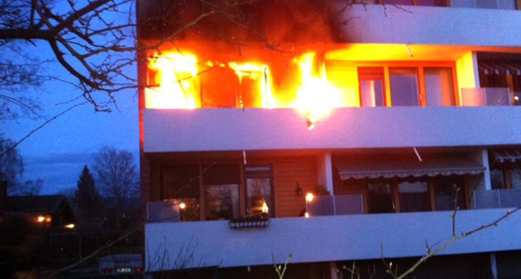 Ingen ble skadet i brannen i Skien sentrum.
