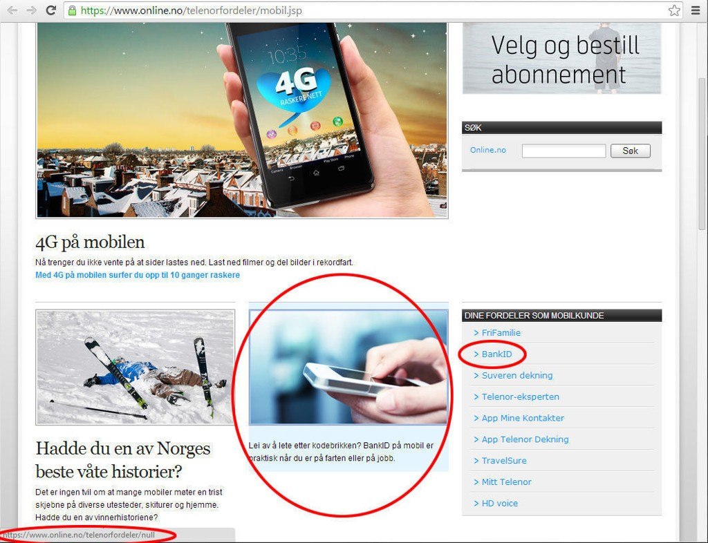 ring europa telenor bedrift