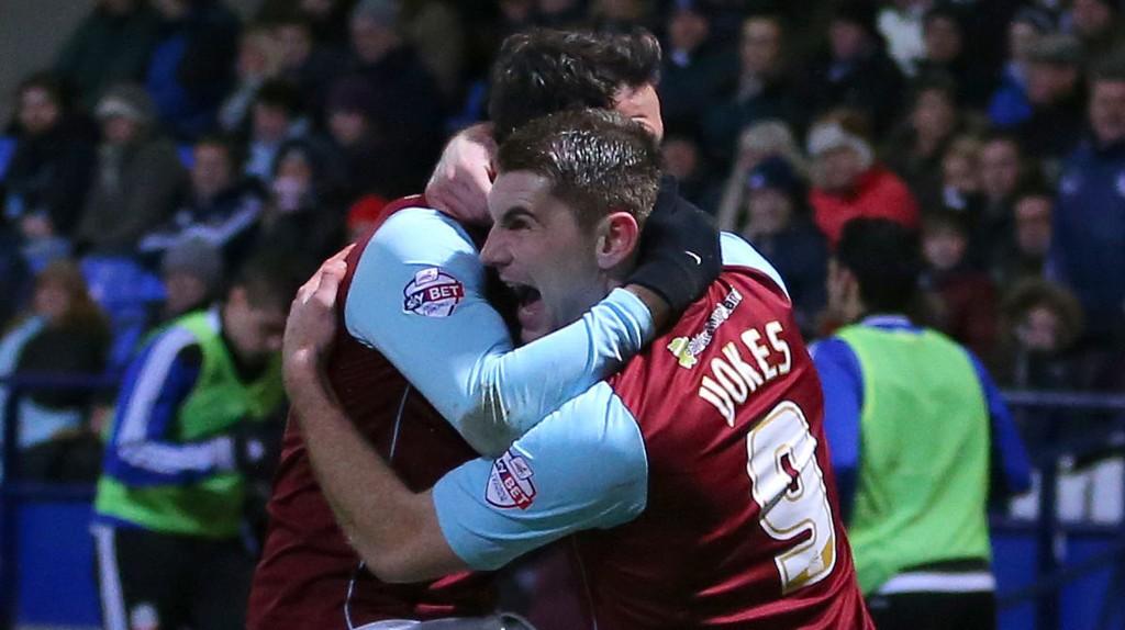 Sam Vokes og Danny Ings har hatt mye å juble for denne sesongen. Burnleys stjernespisser har måkt inn 20 seriemål hver.