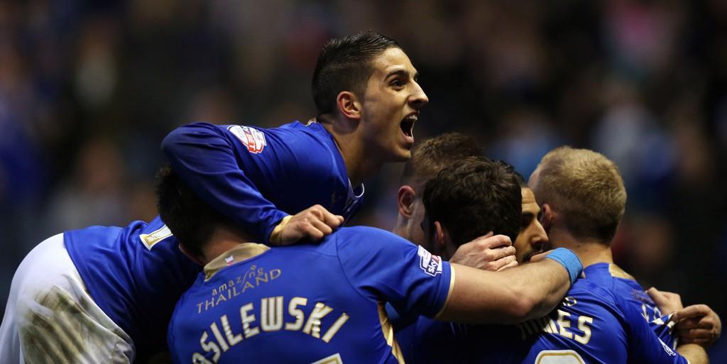 RETUR: Da resultatene gikk Leicesters vei lørdag, ble det endelig klart at klubben er tilbake i Premier League.