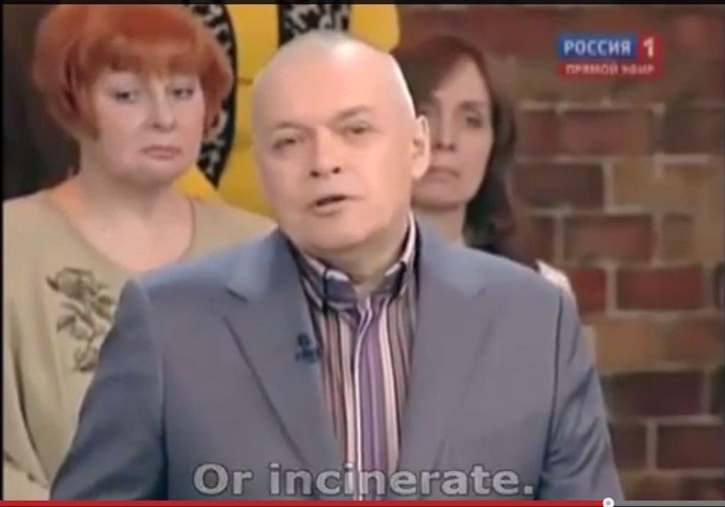 Den russiske TV-kjendisen Dmitrij Kiseljov får ikke komme til Norge for å fiske.