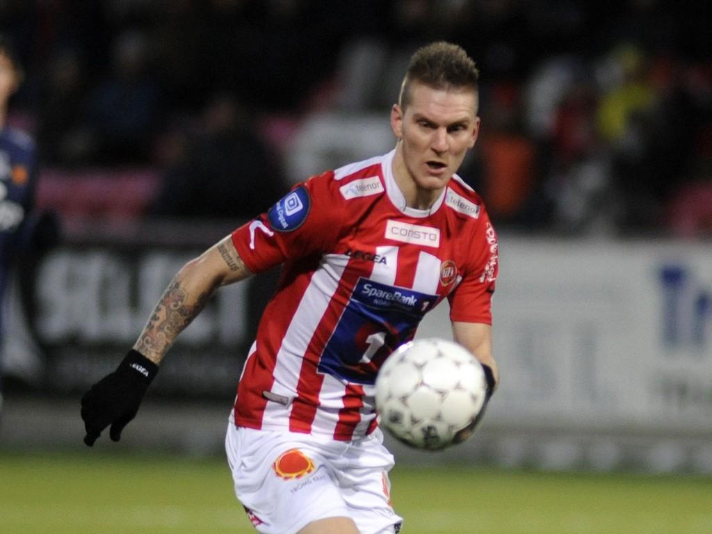 GA TROMSØ KJEMPESTART: Zdenek Ondrasek scoret det første målet da Tromsø slo Fredrikstad i Adeccoligapremieren. Dette bildet er hentet fra en Tippeligakamp i fjor.
