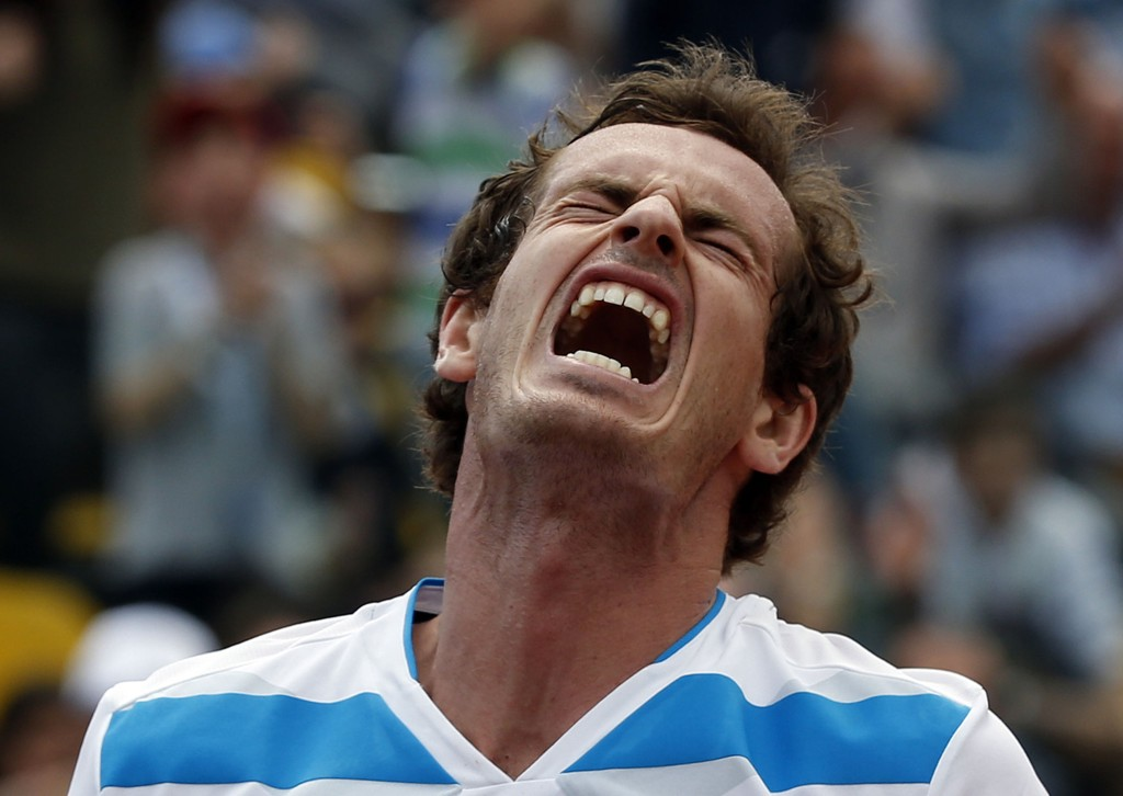 BLE KNUST: Andy Murray.