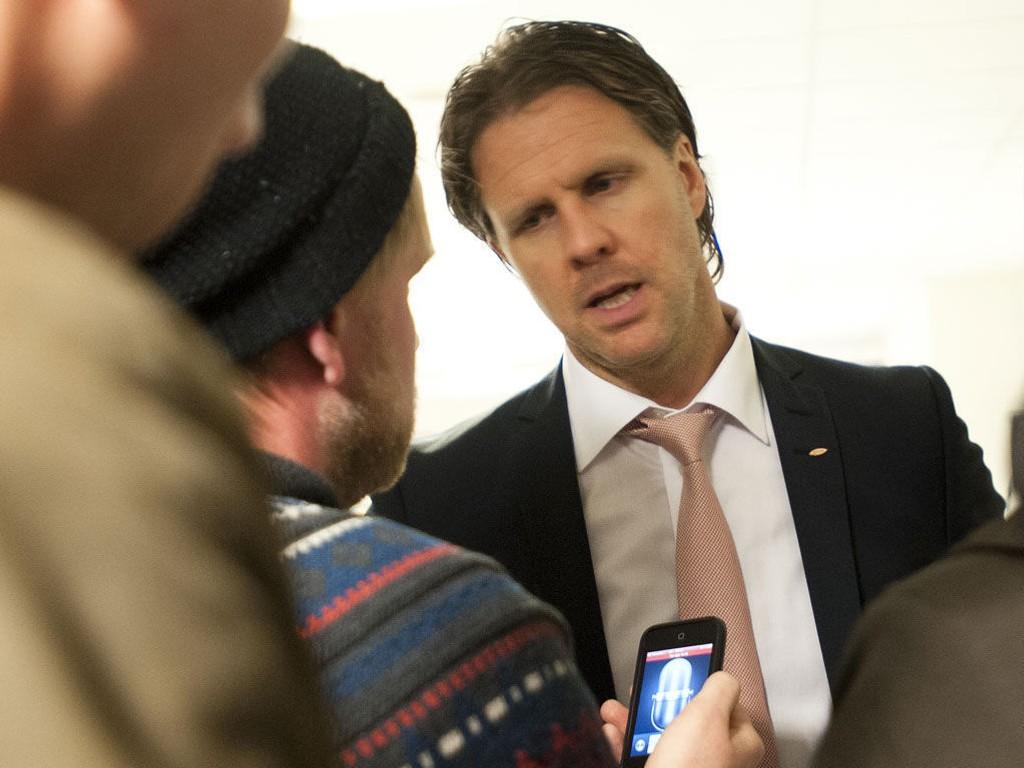 SKUFFET: Brann-trener Rikard Norling var misfornøyd etter hans andre strake tap som Brann-trener.