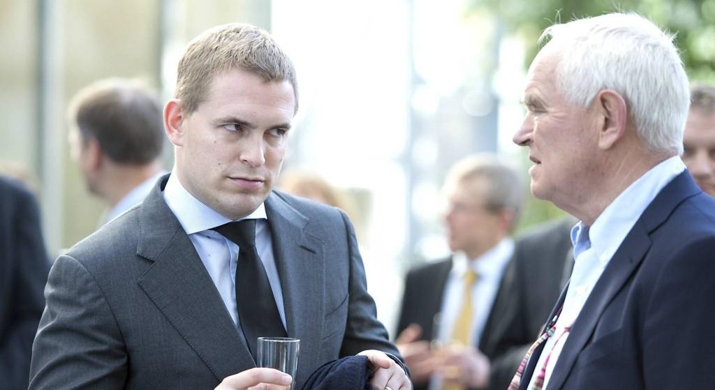 Arving Frederik Wilhelm Mohn og faren Trond Mohn er uenige om salget av familiedynastiet.