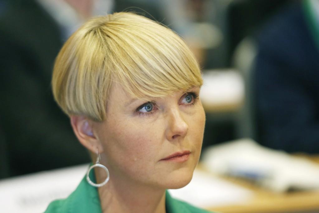 Anne Beathe Kristiansen Tvinnereim er 1 . nestleder kandidat under Senterpartiets ekstraordinære landsmøte. Foto: Terje Bendiksby / NTB scanpix