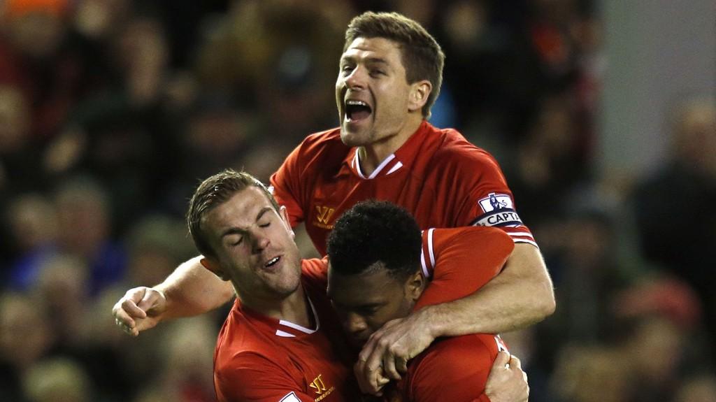 Liverpool - Manchester City er ukens høydepunkt i Premier League. Oppgjøret kan du se direkte på TV 2 Premium og Sumo kl. 14.37 søndag.