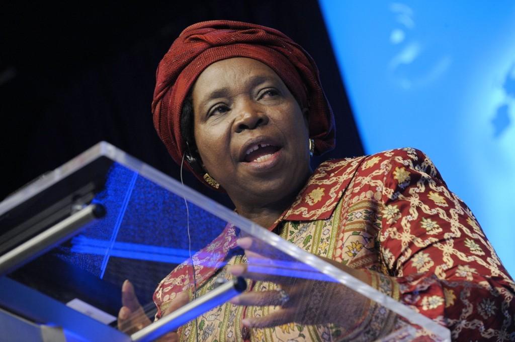 TOK OPPGJØR: - Verden sviktet Rwanda, sa leder i Den afrikanske union, Nkosazana Dlamini-Zuma.