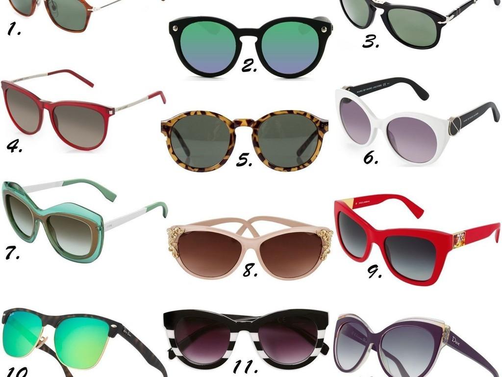 lindex svarte runde solbriller