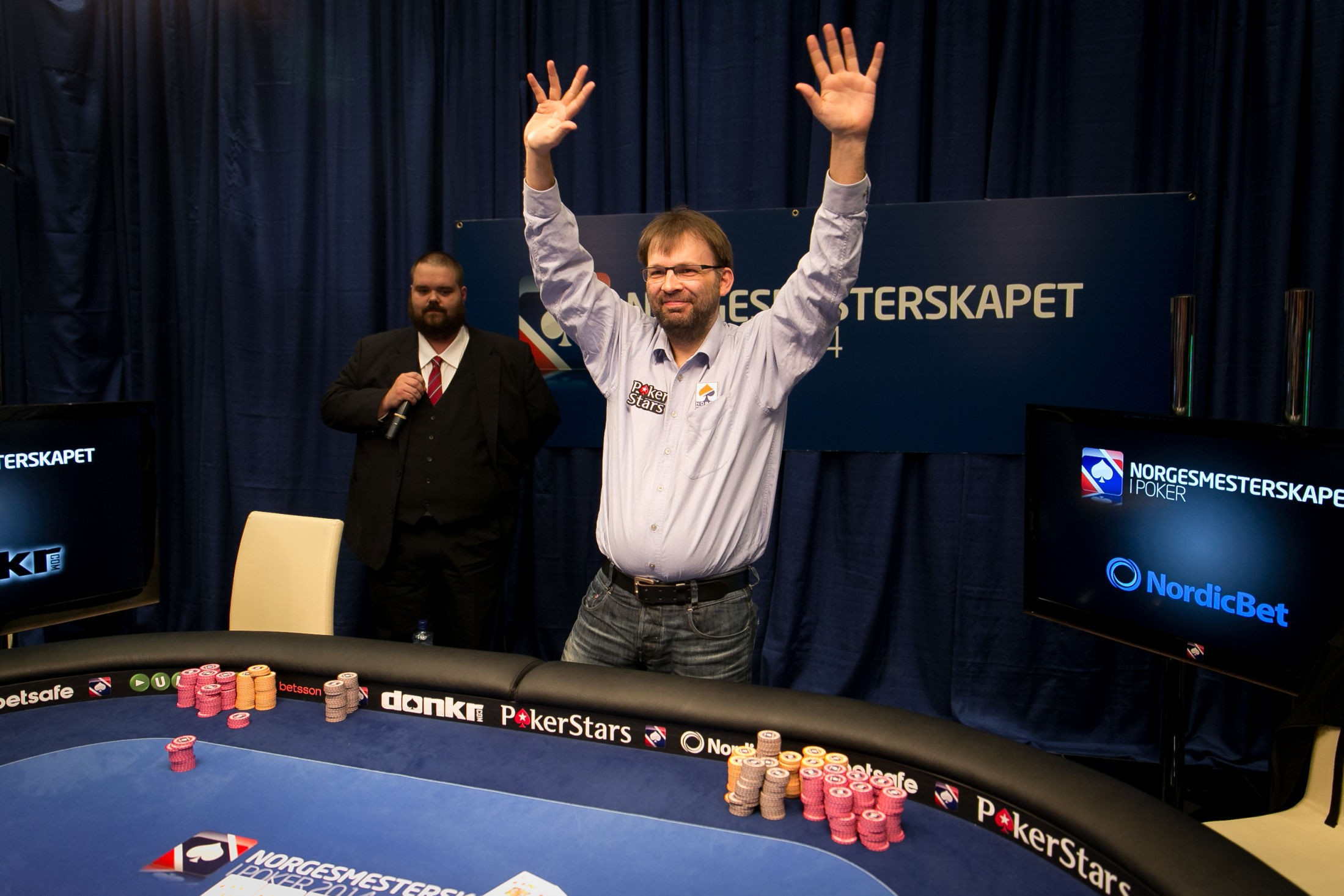 NM 2014 - Main Event-vinner Vegard Nygaard