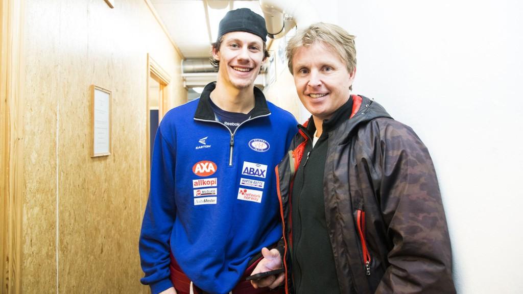 SKILLER VEIER: Trener Espen Knutsen bekrefter at Vålerenga selger Sondre Olden til Brynäs.