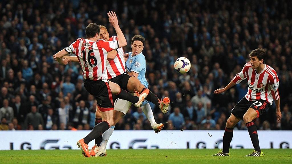 SKUFFET: Manchester City klarte ikke å ta en viktig seier onsdag kveld.