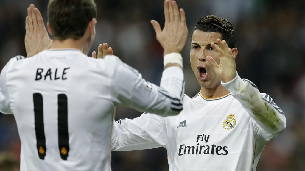 Cristiano Ronaldo og Gareth Bale har scoret 19 mål til sammen i Champions League denne sesongen. Forhåpentligvis får vi se begge i aksjon for Real Madrid i kveld.