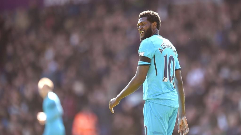 Det er vanskelig å vite hva man får med Tottenham og Emanuel Adebayor for tiden.