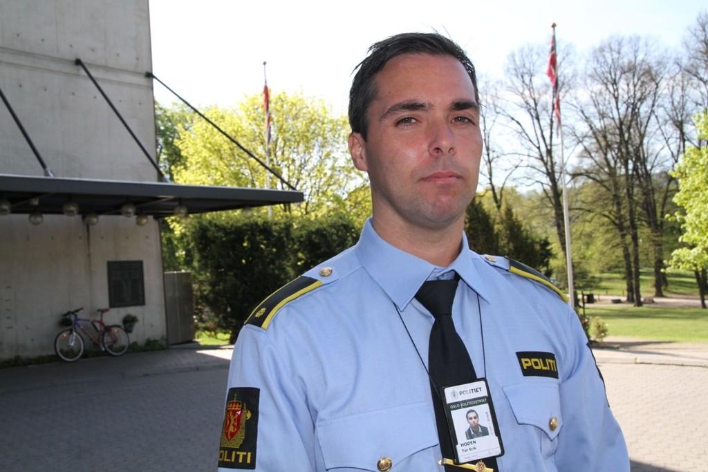 Politiførstebetjent Tor Erik Hoøen.