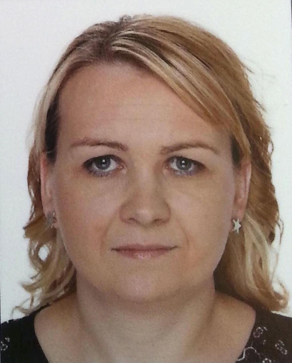 Arkivbilde av Agnes Elisabeth Müller som har vært savnet siden lørdag 19. april. Hun ble sist sett ved Oanes ferjekai i Forsand kommune ved 23-tiden onsdag 16. april. Hennes ektemann ble mandag siktet for drap.