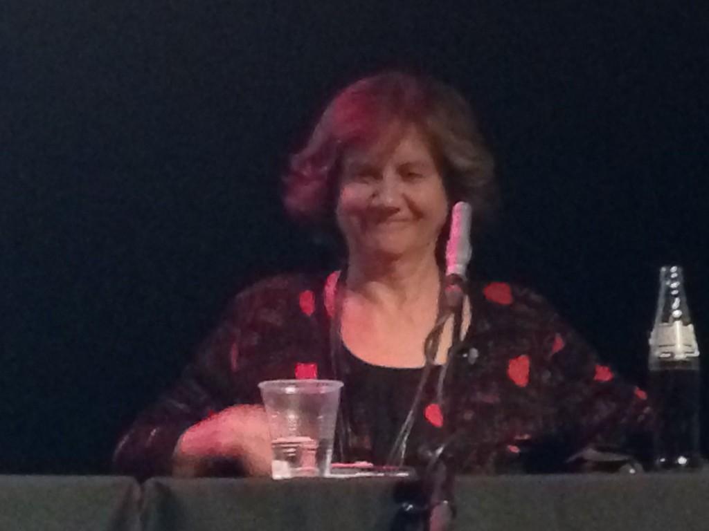 Tidligere LO-leder Gerd-Liv Valla svinger seg i debatt.