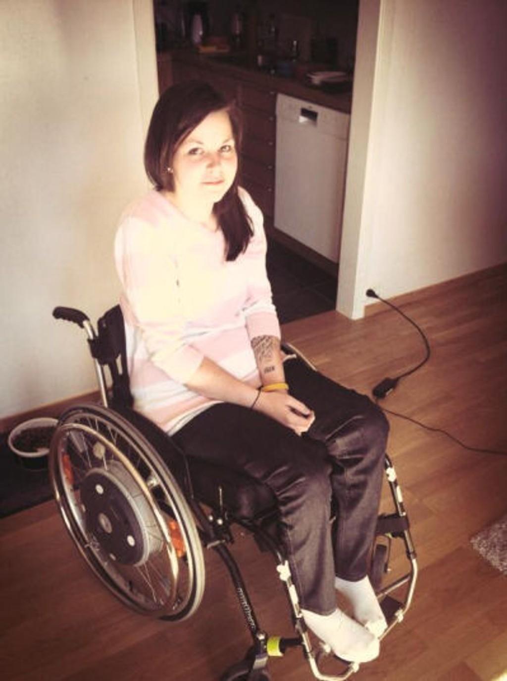 Cecilie Bjørndal er et levende bevis på at det kan blir fatalt hvis du fikler med telefonen mens du kjører bil. For seks år siden havnet hun i rullestol på grunn av en uforsiktig trailersjåfør.