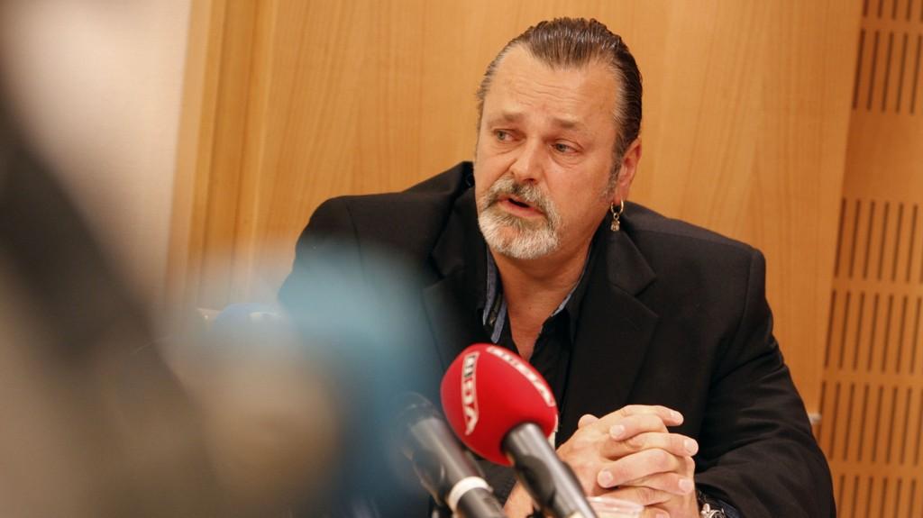 GJENGKRIMINALITET OSLO 20070925: Leder for Gjengprosjektet, Eirik Jensen, under pressekonferansen til Oslo Politikammer om gjengkriminalitet i Oslo tirsdag Foto: Lise Åserud / SCANPIX .