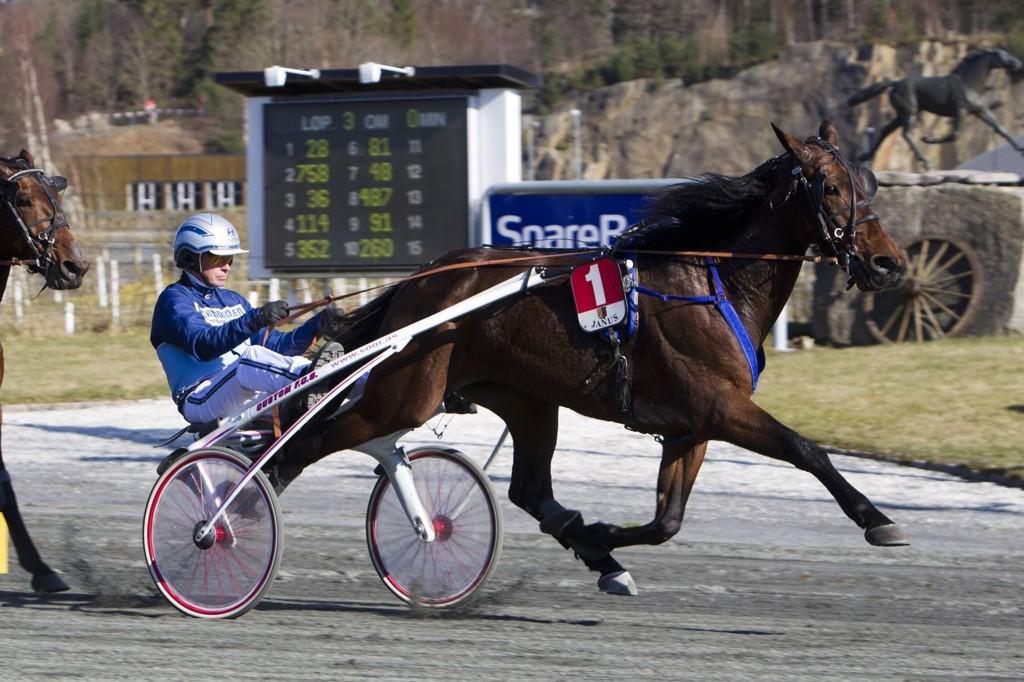 Porfirio Bi med Frode Hamre er vår banker fra Sørlandet. Foto Morten Skifjeld/Hestehguiden.com