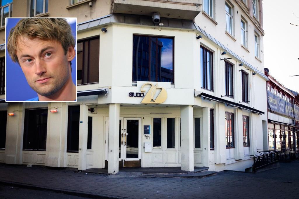 FESTET HER: På dette utestedet skal Petter Northug ha tilbrakt én til to timer natt til søndag.