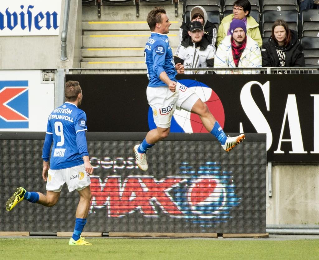 SCORET: Fredrik Gulbrandsen scoret 1-0-målet mot Molde.