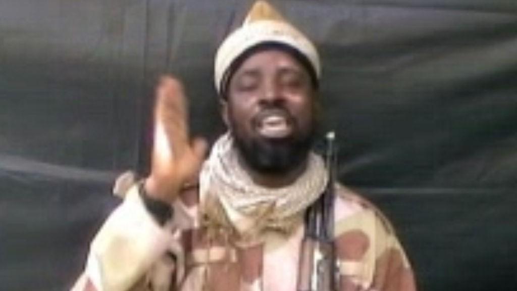 Boko Haram-leder Abubakar Shekau.