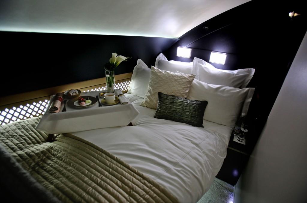 Passasjerene som reiser med The Residence by Etihad får en egen 11, 6 kvadratmeter stor suite som inkluderer en stue, soverom og eget bad.