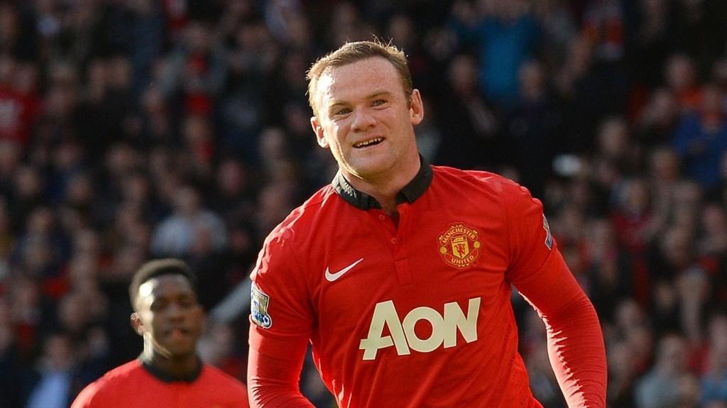 SLITER MED MAGEN: Wayne Rooney.