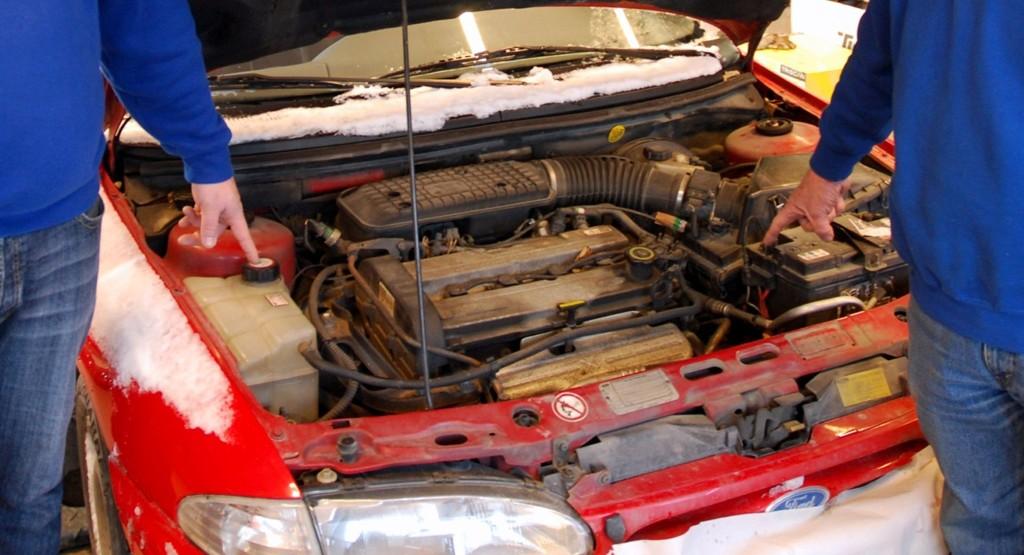 Mannen hadde reparert bilen for 29.000 svenske kroner - og ble tatt i grønn sone.